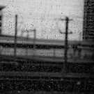 Rainy Day Train © Vicki Ferrari Photography by Vicki Ferrari