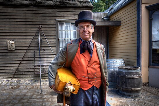 The Science Teacher - Sovereignhill by Hans Kawitzki