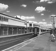 The 13:45 to London Victoria  by larry flewers