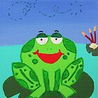 Cheeky Little Frog 3 by Kelly Mark