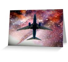 Space Travel 2011 © Greeting Card