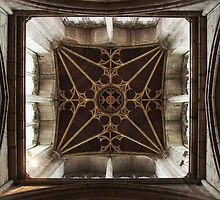 Tower Interior - St Laurence`s Ludlow by John Dalkin