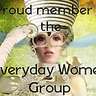 Everyday Women Group Member by Geraldine (Gezza) Maddrell
