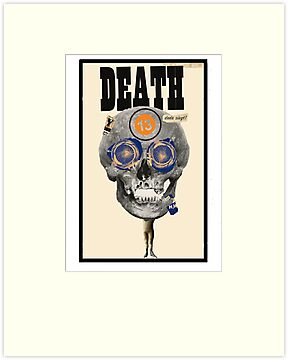 Dada Tarot-Death by Peter Simpson