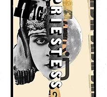 Dada Tarot- High Priestess by Peter Simpson