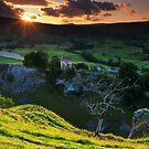 Peveril Castle, Castleton by johnfinney