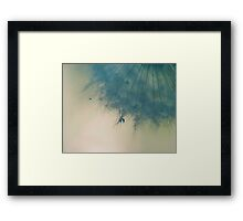 sometimes you only need one wish Framed Print