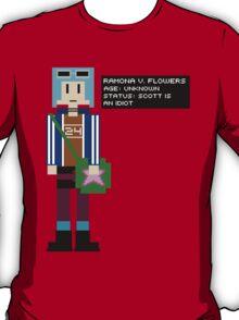 Ramona Flowers - Age: Unknown - 8-Bit T-Shirt