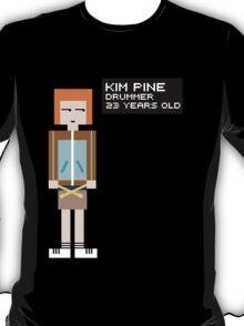 Kim Pine - Drummer - 8-Bit T-Shirt