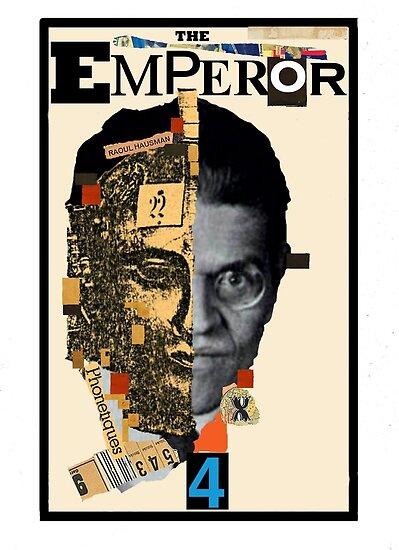 Dada Tarot-The Emperor by Peter Simpson