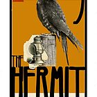 Dada Tarot- The Hermit by Peter Simpson