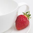 Teatime Strawberry by Ann Garrett