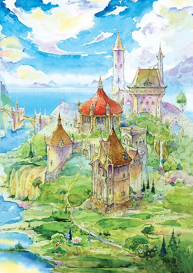 Cair Paravel by Natasha Tabatchikova