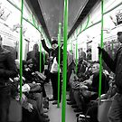 London: District Line, Green by JKScatena
