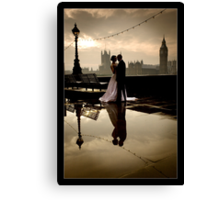 Love in London Canvas Print
