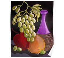 """Wine Art 2"" Poster"