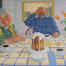 Eat Cake by Gemma Art