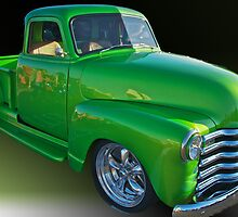 Green Truck - Ya Think!  by Mike Capone