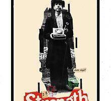 Dada Tarot-Strength by Peter Simpson