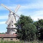 Mill Bank Windmill by Loree McComb