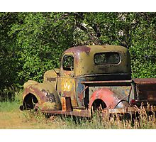 """""""Old Truck In Small Town Colorado"""" Photographic Print"""