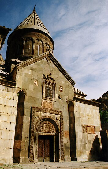 Geghard in Armenia by Joumana Medlej