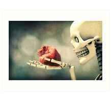 All I Ever Wanted Was Your Heart Art Print