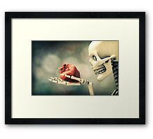 All I Ever Wanted Was Your Heart Framed Print