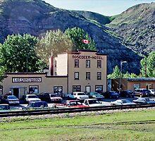 Last Chance Saloon & Rosedeer Hotel, Wayne, Alberta, Canada (Y) by Adrian Paul