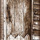 Old door by CliveOnBeara