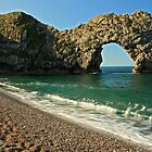 Durdle Door by Mark Hughes