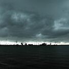 approaching storm by kathy s gillentine
