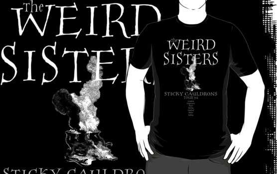 Weird Sisters - Sticky Cauldrons Tour '94 by Mouan