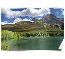 Wedge Pond -  Bow Valley Provincial Park Poster