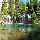 Hanging Lake&#x27;s emerald waters by David  Hughes