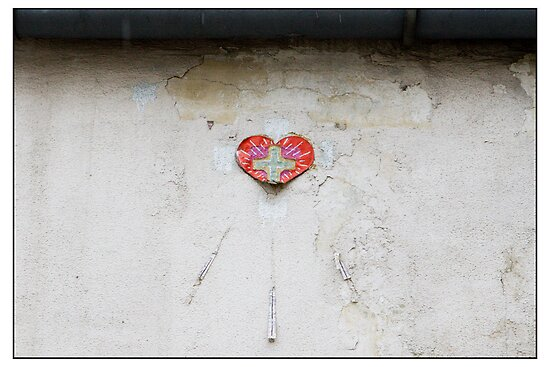 Heart in Rīga, Rīga, Latvia. (2011) by Madeleine Marx-Bentley