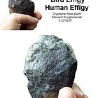 Rare Earth Conglomerate - human & bird effigy by stonemagic