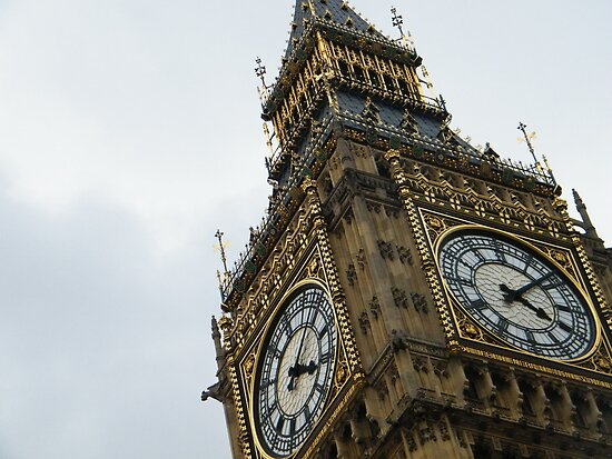 big ben in London by Alice Thorpe