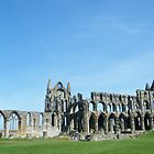 whitby abbey by Alice Thorpe