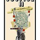 Dada Tarot- Justice by Peter Simpson