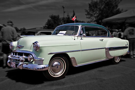 1953 chevrolet belair hardtop by photosbyhealy redbubble for 1953 chevy belair 2 door hardtop
