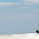 White Sands Rider by Mitchell Tillison