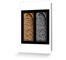 Heritage - In color and B&W Greeting Card