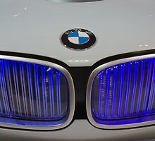 Hood & Grille Detail - BMW Vision  by TeaCee