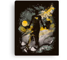 the shape shifter Canvas Print