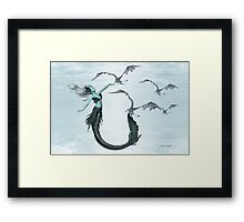 Call of the Sea Dragons Framed Print