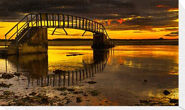 Belhaven Sunset by Don Alexander Lumsden (Echo7)