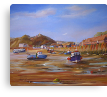 FOLKESTONE HARBOUR Canvas Print