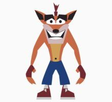 Crash Bandicoot by Amy Huxtable