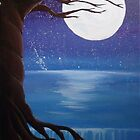 Moonlit Tree by SMalik